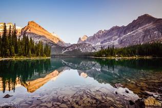 photographe outdoor - Lake O'hara Canada