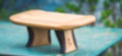 shoggi de meditation en bois fait main