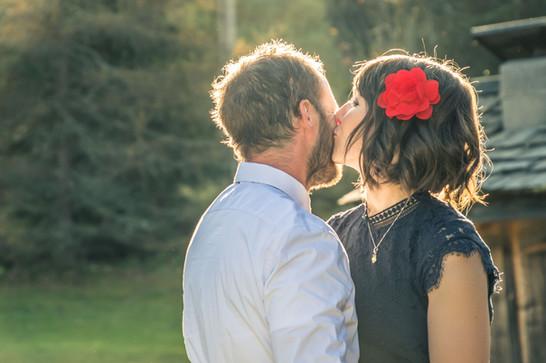 Les mariés - Haute Savoie