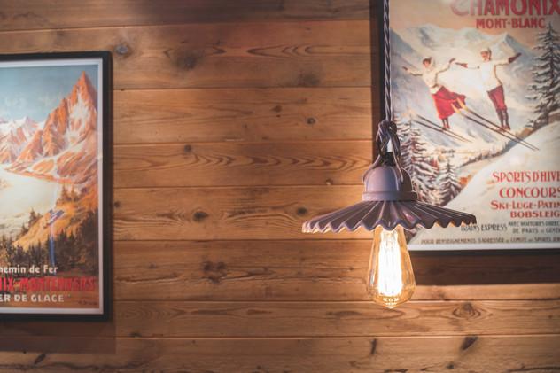 détail décoration chalet montagne- photographe immobilier