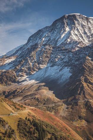 En route vers le Nid d'Aigle- Tramway du Mont Blanc
