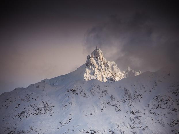 Frozen- Aiguille du midi Chamonix