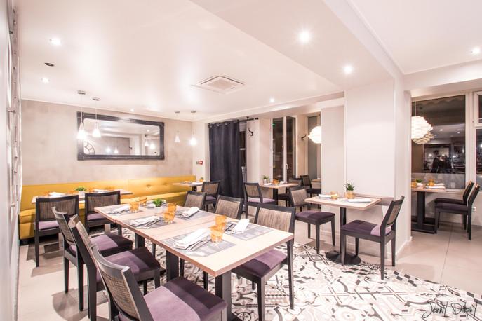 photographe restaurant - la table d'angèle Reignier