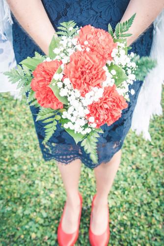 Bouquet de la mariée - Haute Savoie