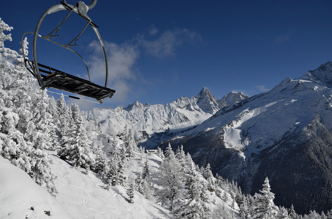 Télésiège du Brévent - Chamonix - Haute Savoie - Alpes