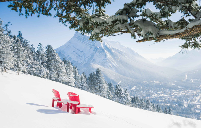 Take a seat- Banff- Canada