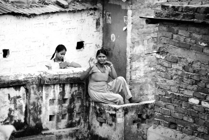 scène de vie Inde