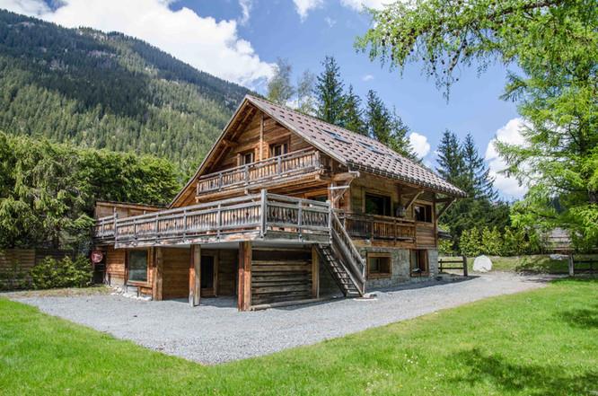 photographe immobilier Chalet Chamonix