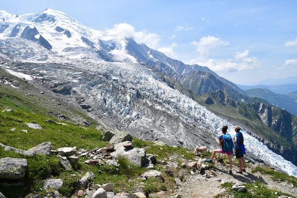 Randonnée Gare des glaciers - Chamonix-  Haute Savoie - Alpes