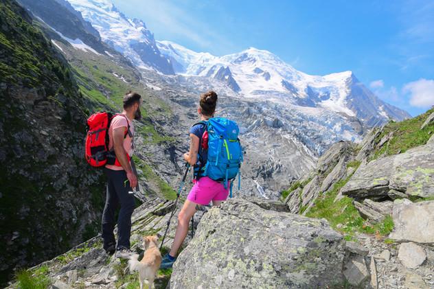Randonnée Chamonix Mont Blanc - Haute Savoie - Alpes