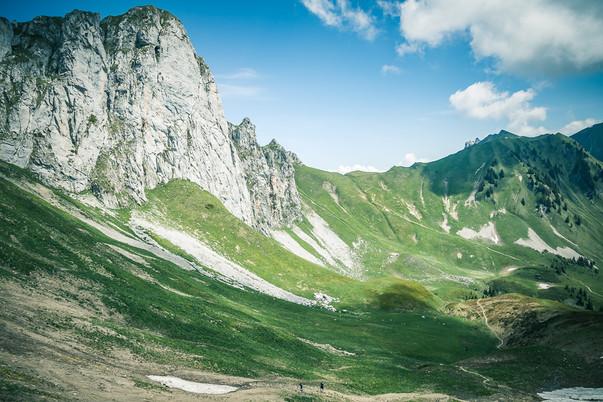 randonnée Haute Savoie - Col de Bise