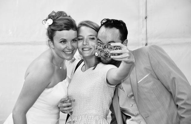 Selfie mariés - Tours