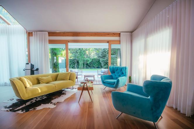 décoration design salon - photographe immobilier