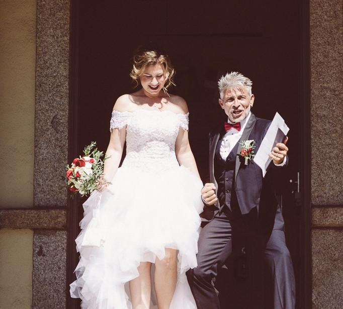 just married Haute Savoie