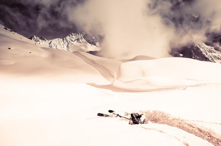 Powder day- Brévent Chamonix