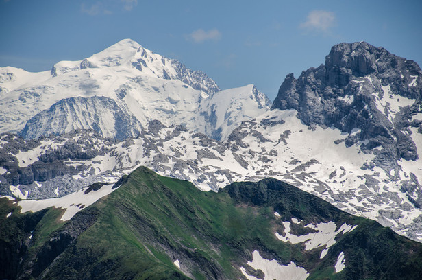 photographe outdoor - Vue Mont Blanc