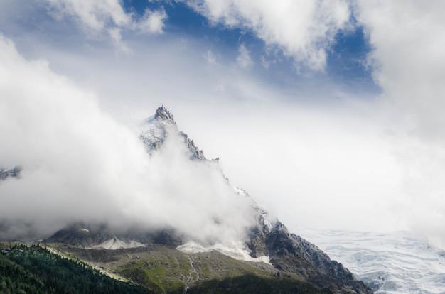 Aiguille du Midi - Chamonix - Haute Savoie - Alpes