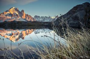 photographe outdoor - lac des cheserys Chamonix