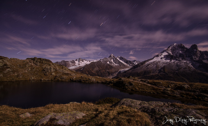 Lacs des Chesery - Chamonix - Haute Savoie - Alpes