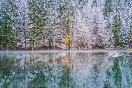 Lac vert - Passy Mont Blanc