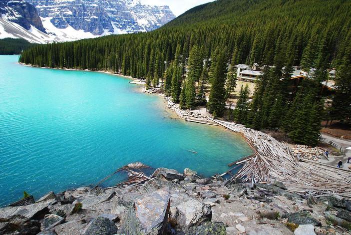 photographe outdoor - Moraine lake Canada