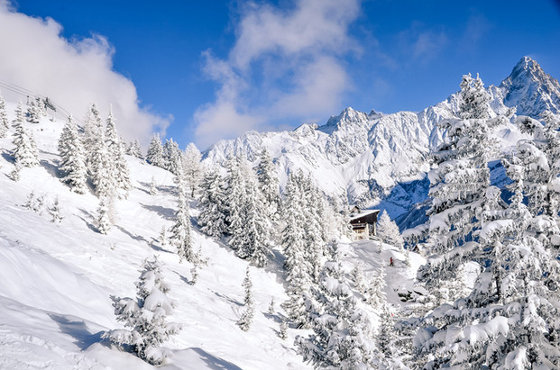 photographe outdoor - Domaine skiable brévent