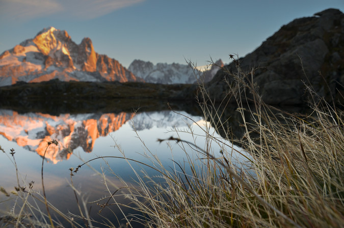 Lacs Chesery-Chamonix - Haute Savoie - Alpes