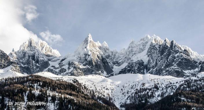 Aiguilles de Chamonix - Haute Savoie -  Alpes