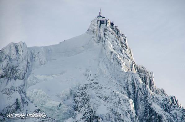 Aiguille du midi - Chamonix- Haute Savoie -  Alpes