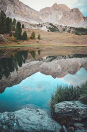 photographe outdoor -Randonnée GR5 - lac mirroir