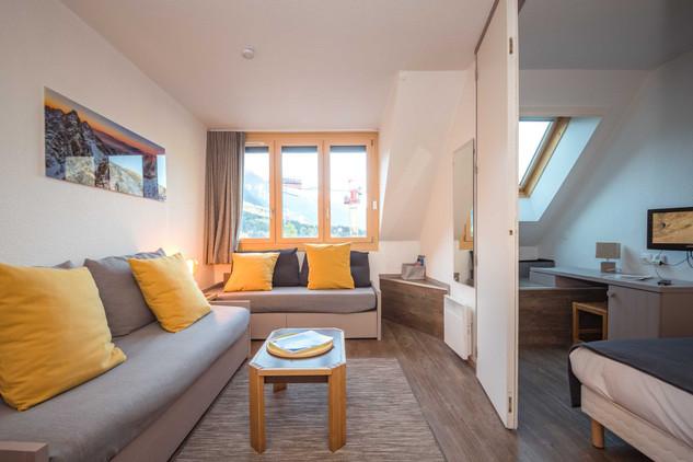 intérieur 2 pièces Chamonix- photographe immobilier
