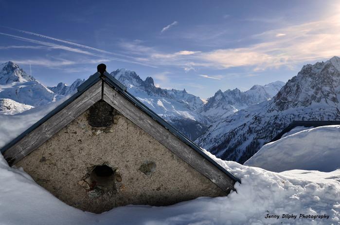 Refuge de la Loriat - Vallorcine - Haute Savoie - Alpes