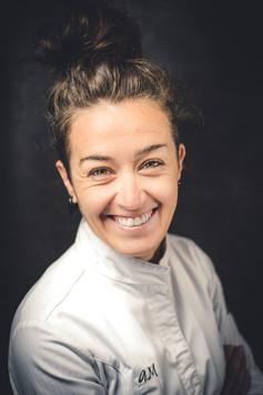 portrait photo chef patissiere