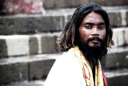 sur les ghats en Inde
