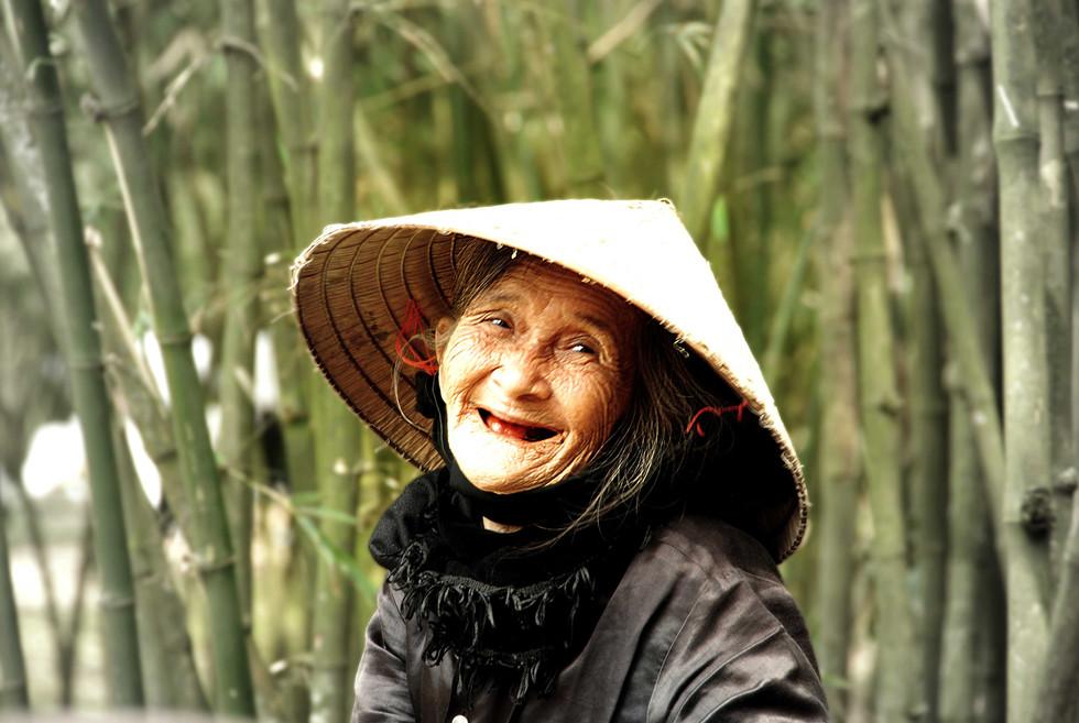 portrait femme Vietnam