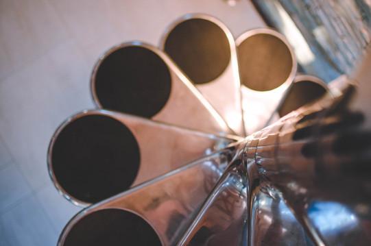 escalier design métal-