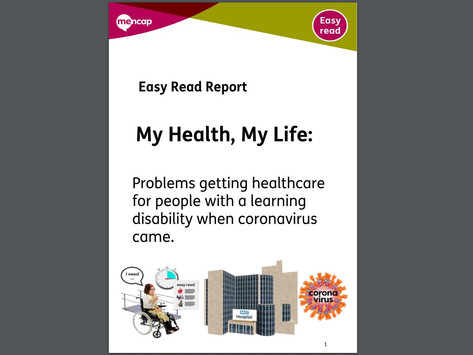 New Mencap Report about Covid-19