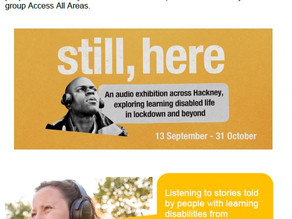 STILL, HERE: An Audio Tour Made By People with Learning Disabilities