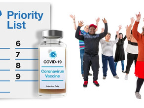 People with learning disabilities to be prioritised for the Covid-19 vaccine!