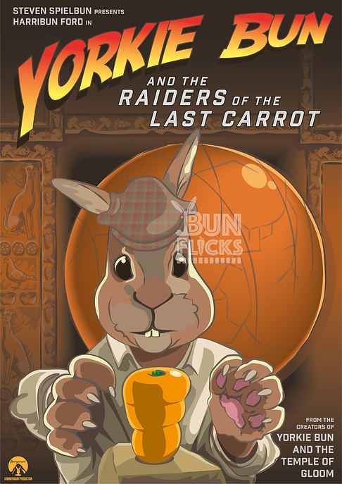 Yorkie Bun and the Raiders of the Last Carrot
