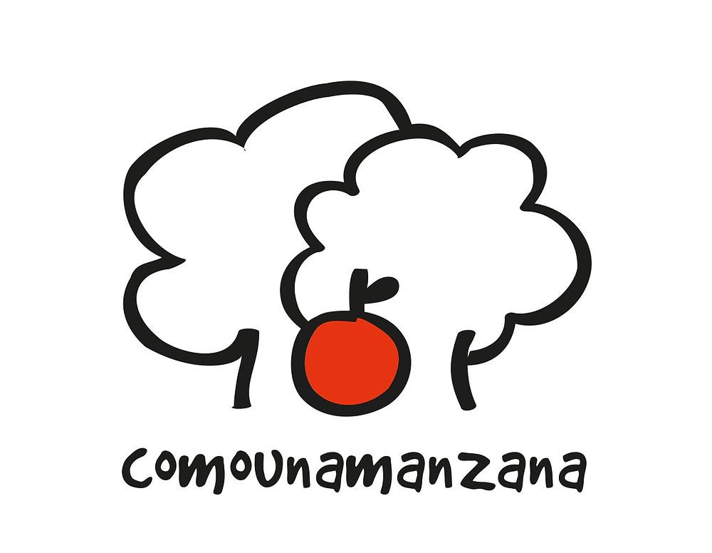 comounamanzana logo
