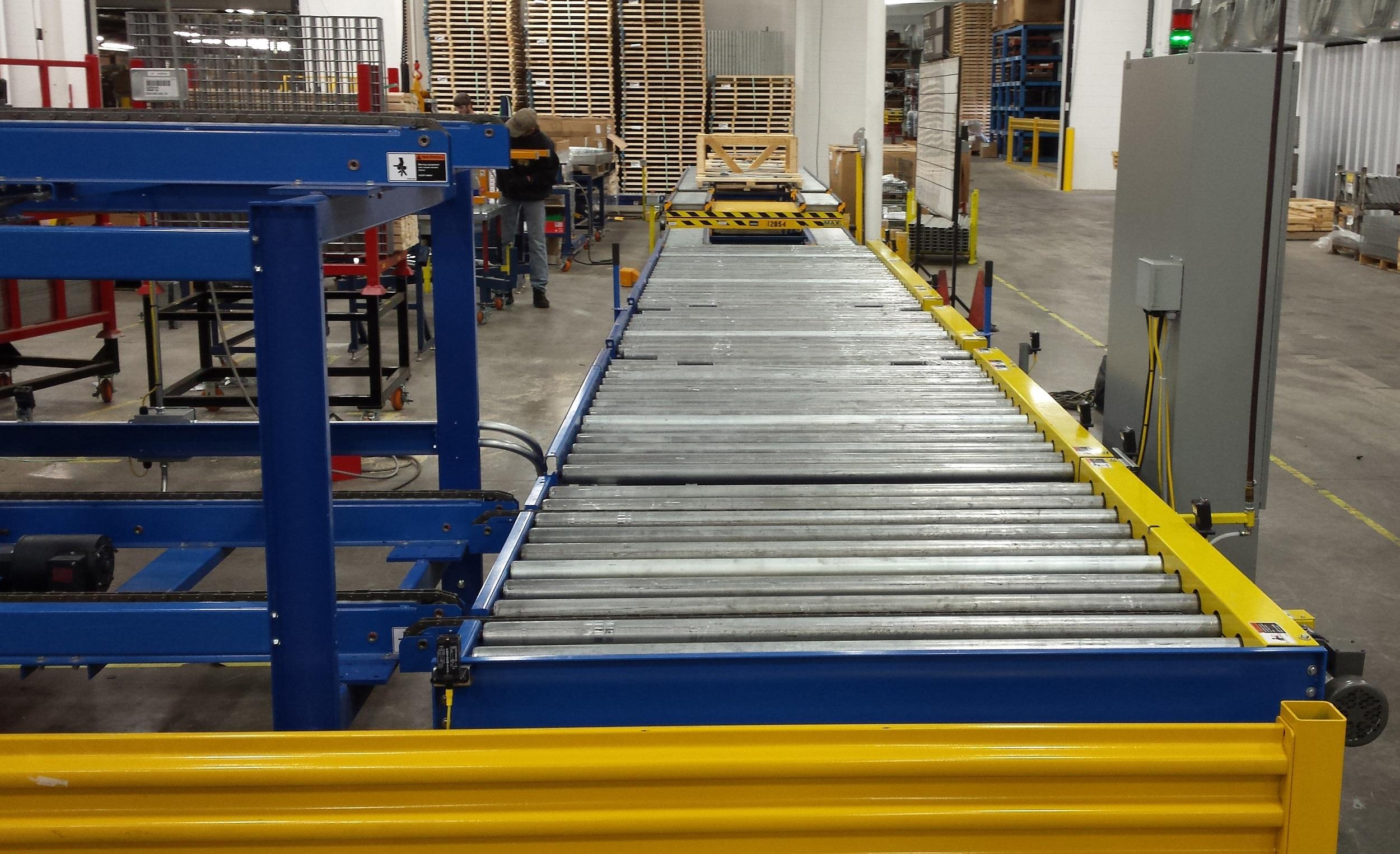 24 VDC Poly-V Conveyor