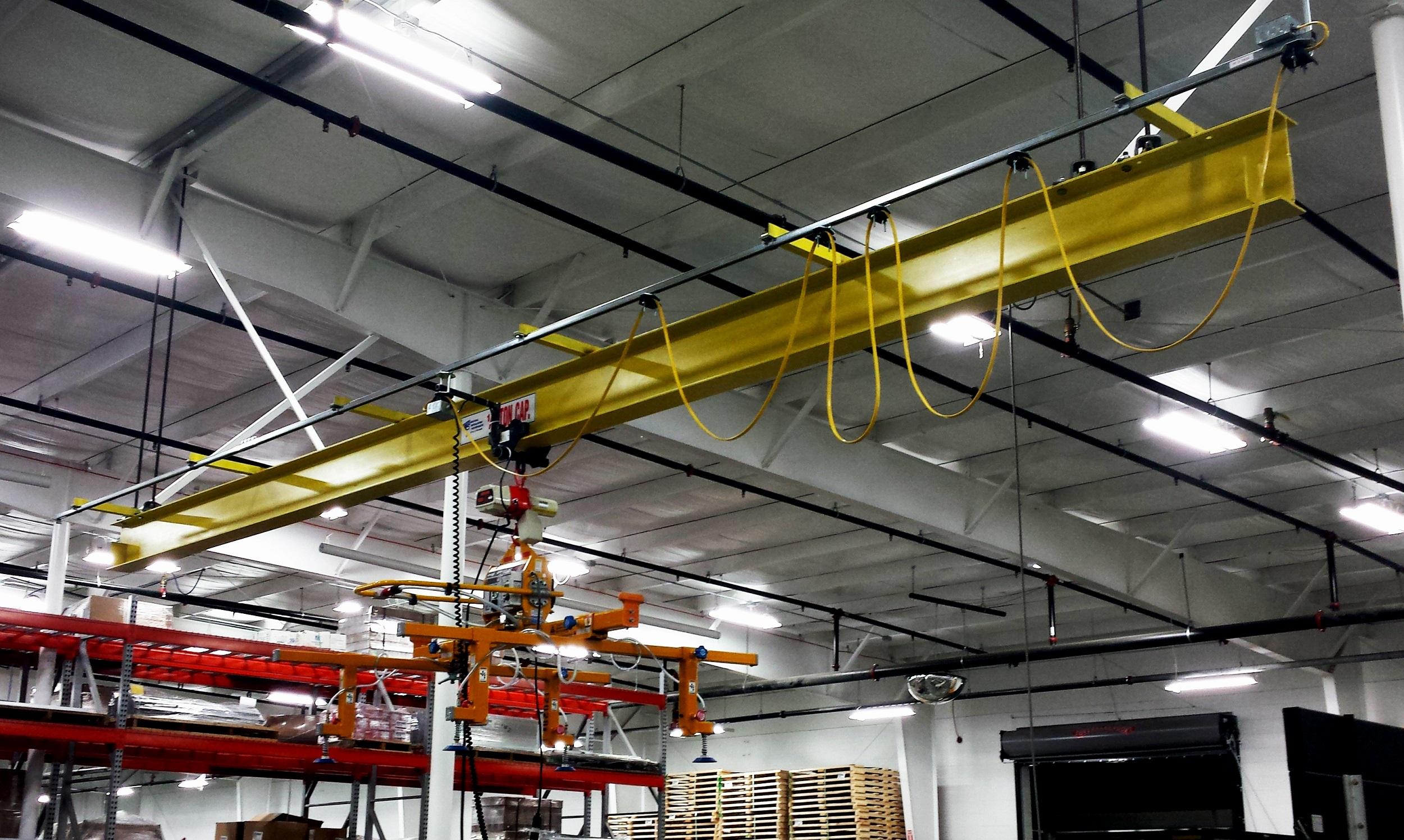 Monorail Vacuum Lift