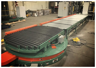 turntable conveyor