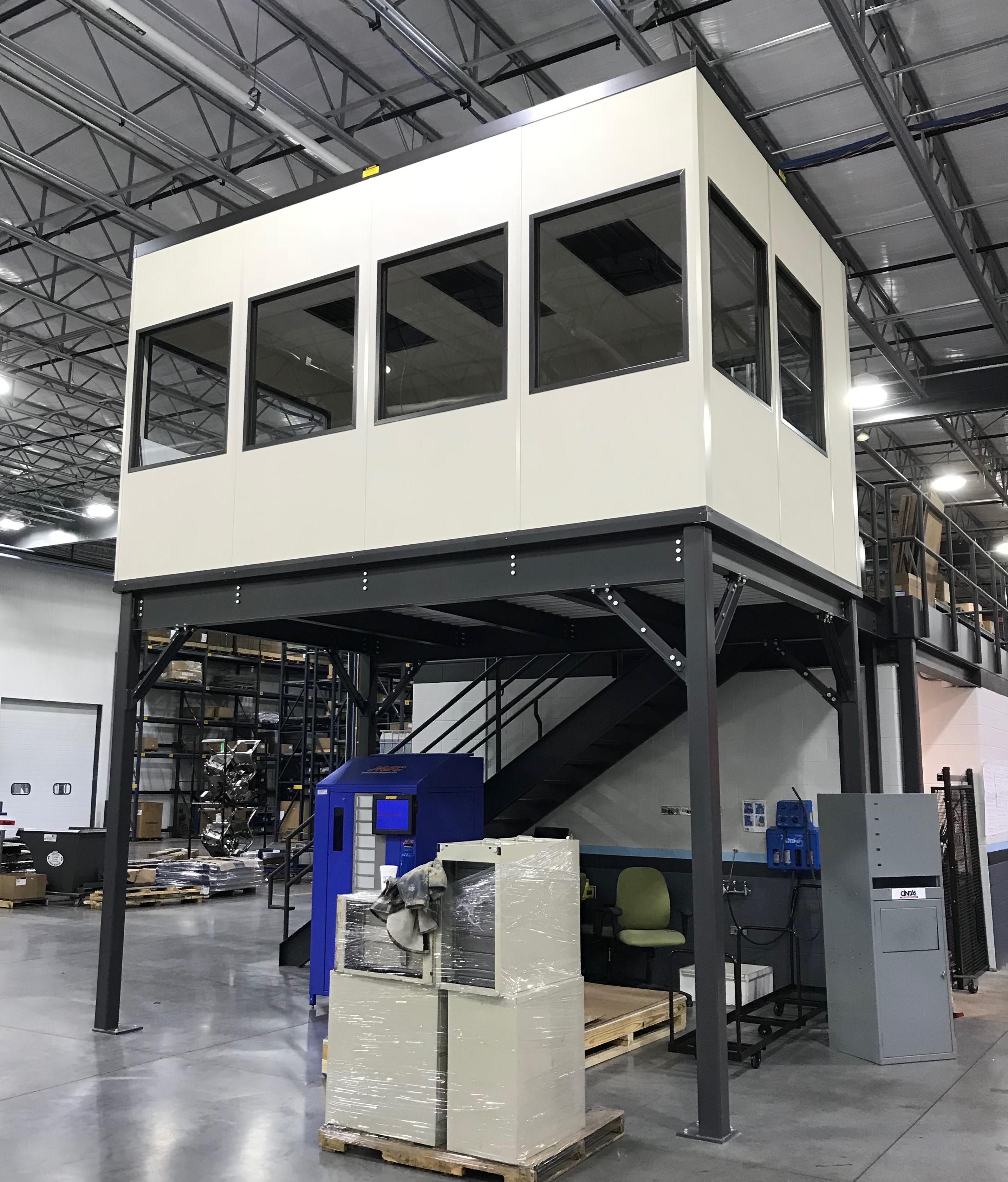 Modular Office Mezzanine
