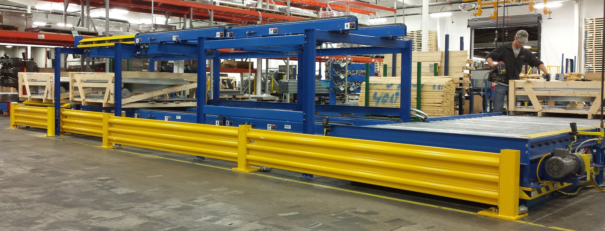 Dual Level Multi Chain Conveyor