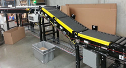 24 VDC Belted Conveyor Incline