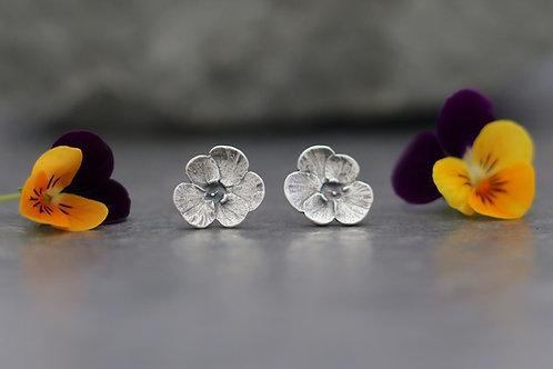 Viola Stud Earrings