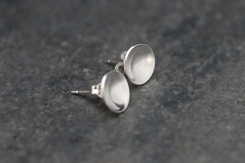 Cupped Stud Earrings