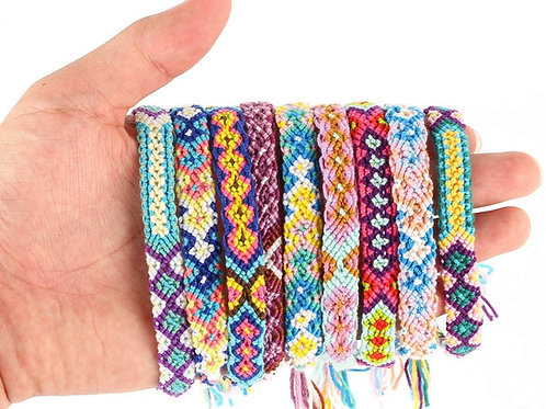 Friendship Bracelets Mixed Colors